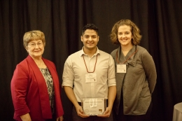 2016 Pharmacy Student of the Year Miguel Toscano
